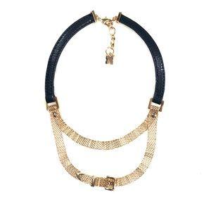 BCBG MaxAzria Buckle Necklace NWOT